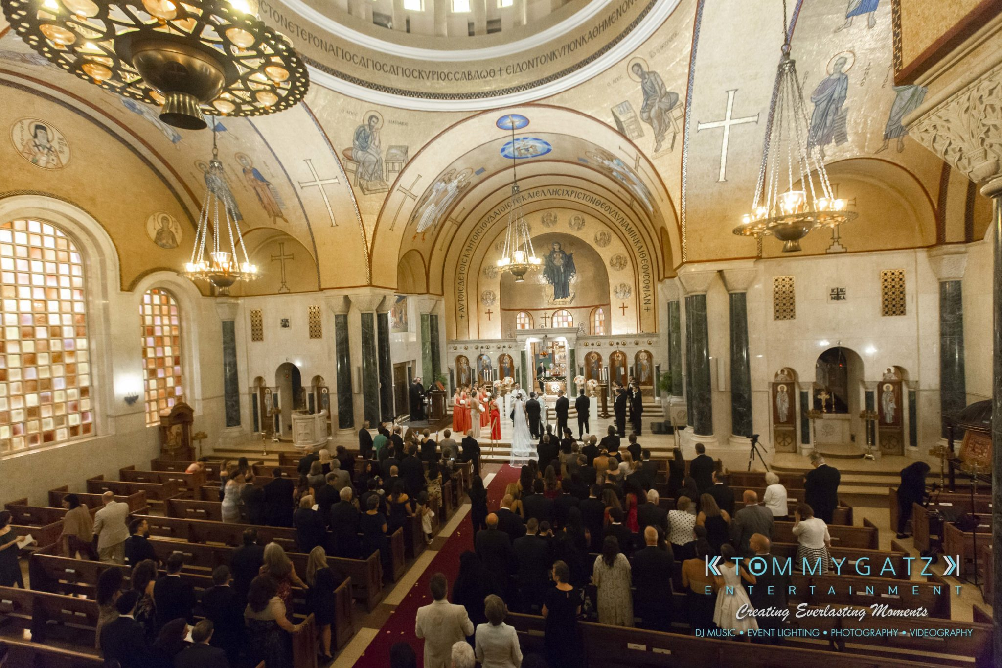 Urania & Aristidis' Wedding Ceremony at St. Sophia Greek Orthodox Cathedral in Washington, D.C. and Wedding Reception at Woodmont Country Club in Rockville, MD